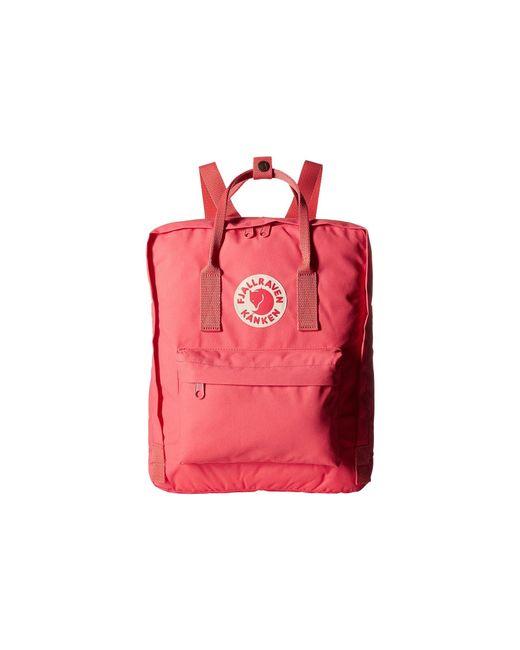Fjallraven - Kanken Classic Peach Pink Backpack - Womens All - Lyst