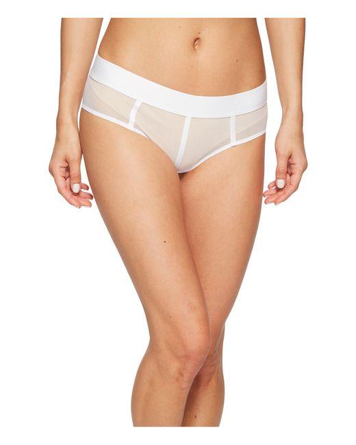 DKNY - Sheers Hipster (white) Women's Underwear - Lyst