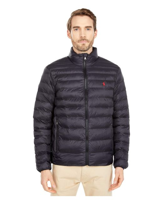 Polo Ralph Lauren Black Packable Down Jacket for men