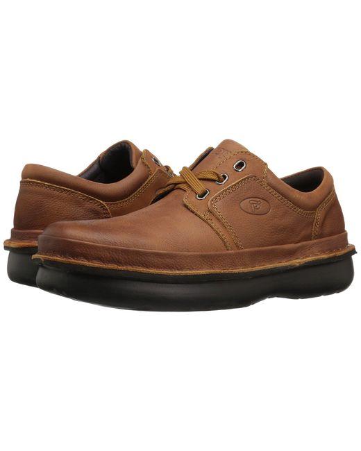 Propet Brown Village Walker Medicare/hcpcs Code = A5500 Diabetic Shoe for men