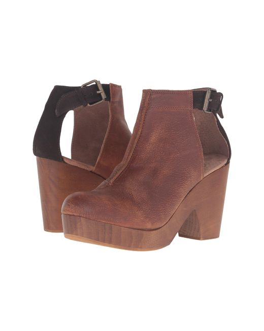 Free People Brown Amber Orchard Clog