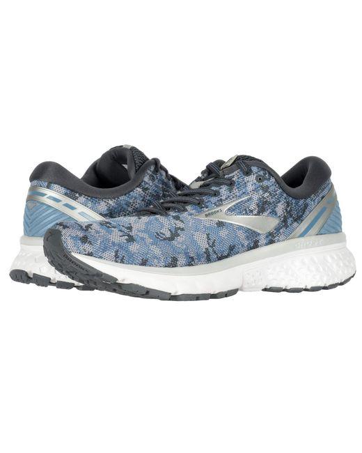 57c06d77ae9c3 Lyst - Brooks Ghost 11 (navy grey purple Rose) Women s Running Shoes ...