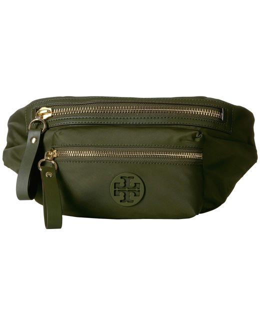 c9b4b354822 Tory Burch - Green Tilda Belt Bag (grape Leaf) Handbags - Lyst ...