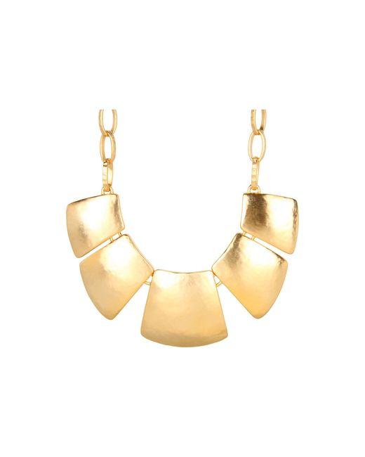 Kenneth Jay Lane | Metallic 7519 Necklace | Lyst