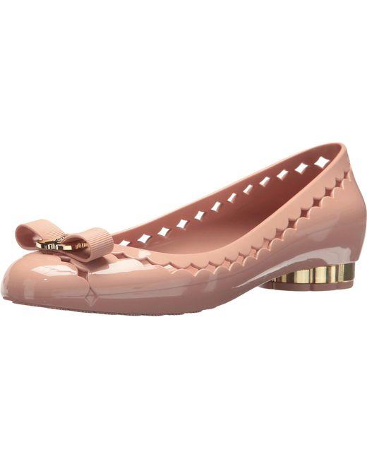 061c89dd91a Lyst - Ferragamo Ballet Flats Shoes Women in Pink - Save 29%