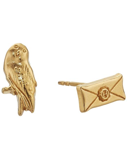 ALEX AND ANI - Multicolor Harry Potter Owl Post Earrings - Lyst
