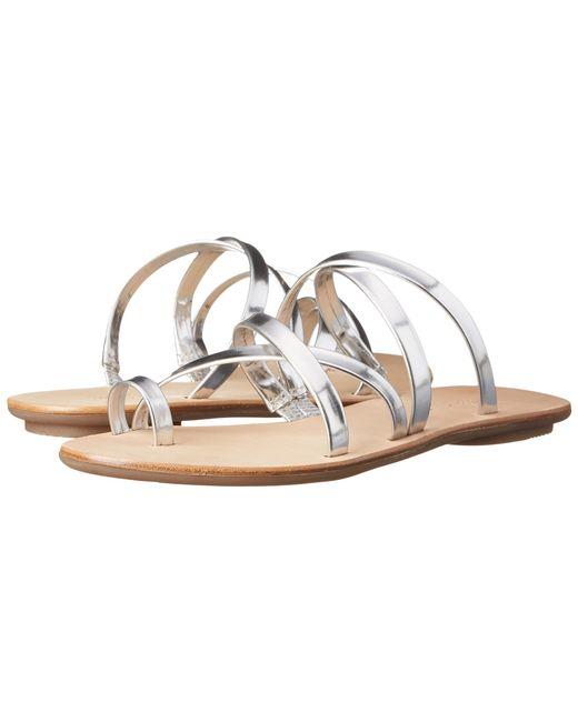 Loeffler Randall | Sarie Sandal Silver Metallic | Lyst