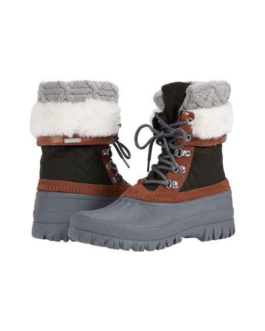 Skechers Green Windom - Snow Mood Boots