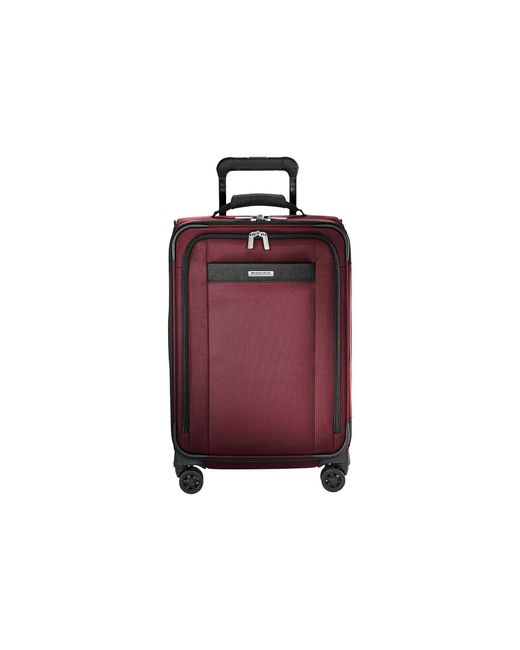 Briggs & Riley - Transcend Vx Tall Carry-on Expandable Spinner (merlot Red) Luggage - Lyst