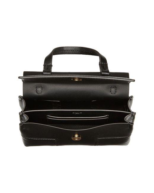 006a8fef9e89 ... Tory Burch - Block-t Mini Satchel (black black) Satchel Handbags ...