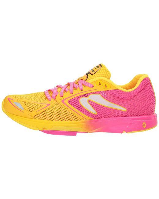Newton Running Pink Distance 7 Lyst