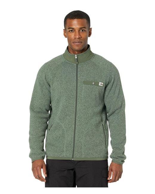 The North Face Green Gordon Lyons Full Zip for men