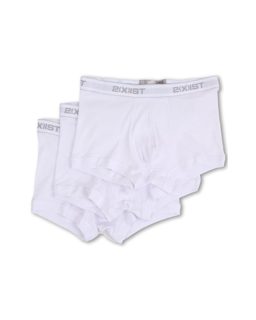 2xist | White 3-pack Essential No-show Trunk for Men | Lyst