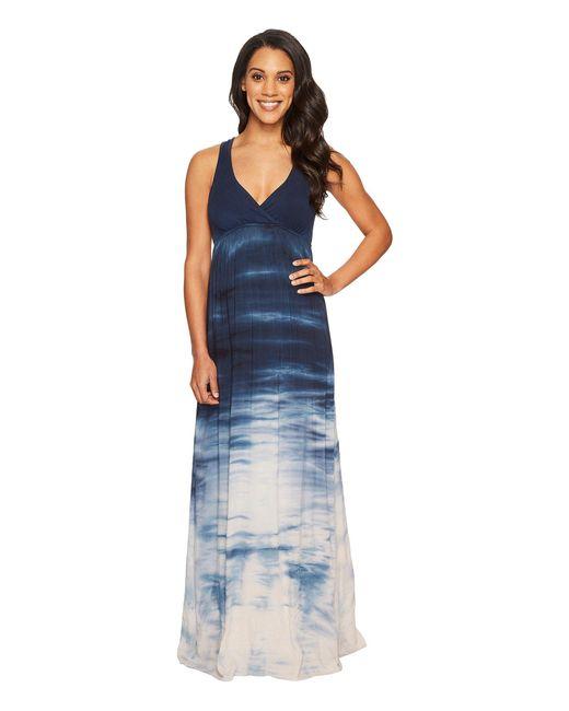 Hard Tail - Blue Twisty Back Maxi Dress (black) Women's Clothing - Lyst