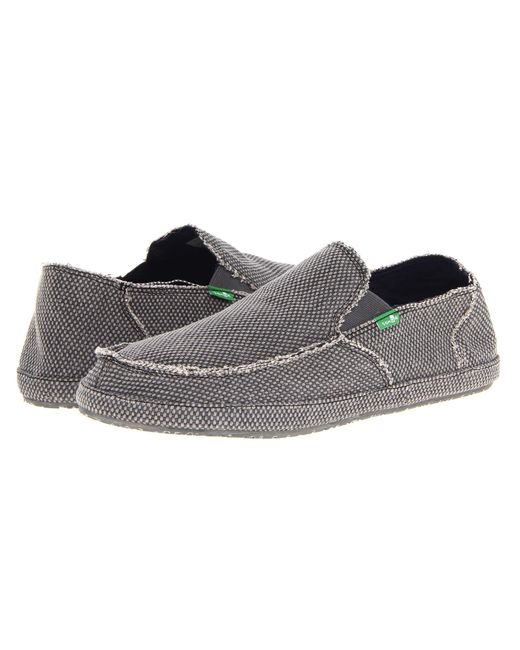 Sanuk | Gray Rounder for Men | Lyst