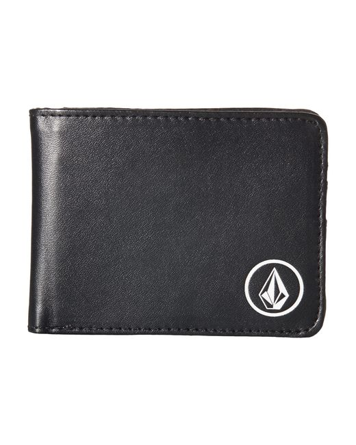 Volcom | Black Corps Wallet for Men | Lyst