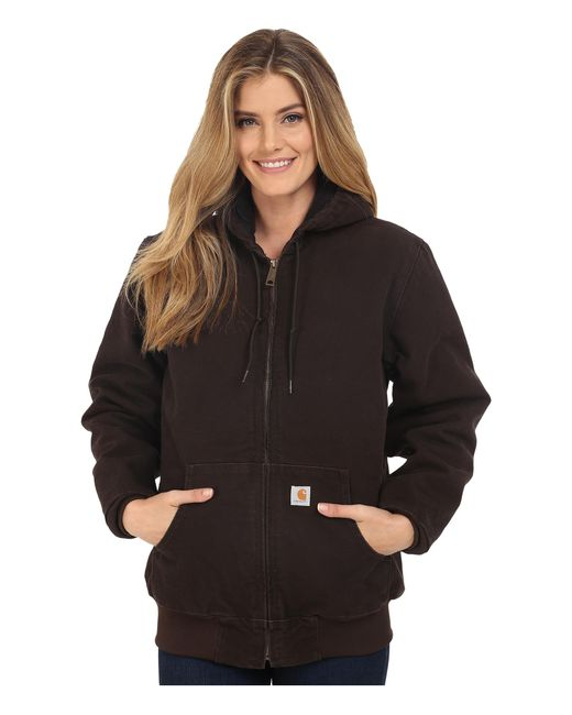 Carhartt | Brown Sandstone Active Jacket | Lyst
