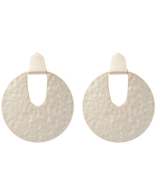Kendra Scott - Metallic Diane Earrings (rhodium Filigree Metal) Earring - Lyst