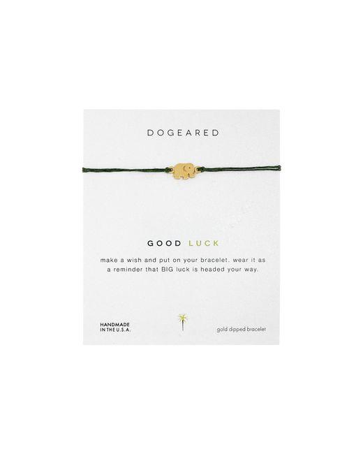 Dogeared   Metallic Good Luck Linen Bracelet   Lyst