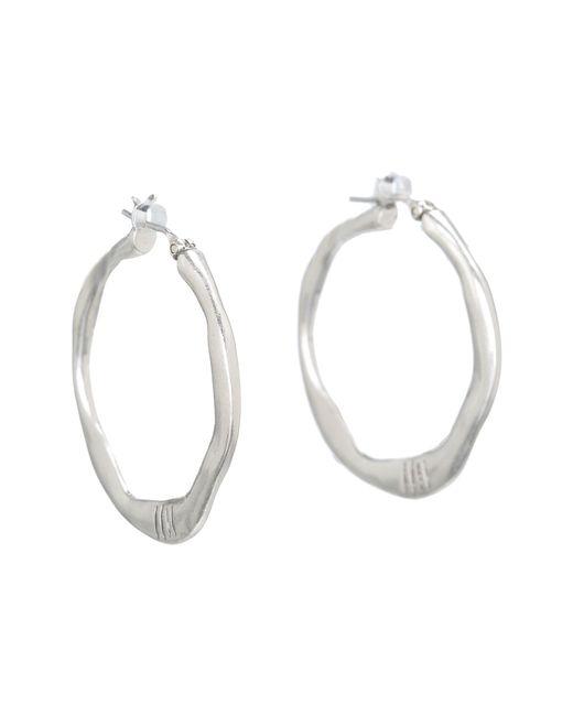 The Sak | Metallic Small Century Metal Hoop Earrings | Lyst