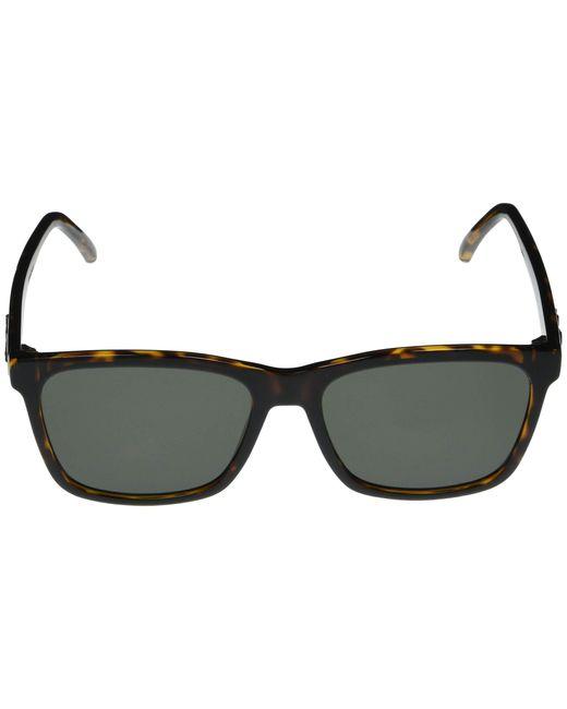 Alexander McQueen AM0129S Sunglasses 002 Havana//Brown Lens 56 mm