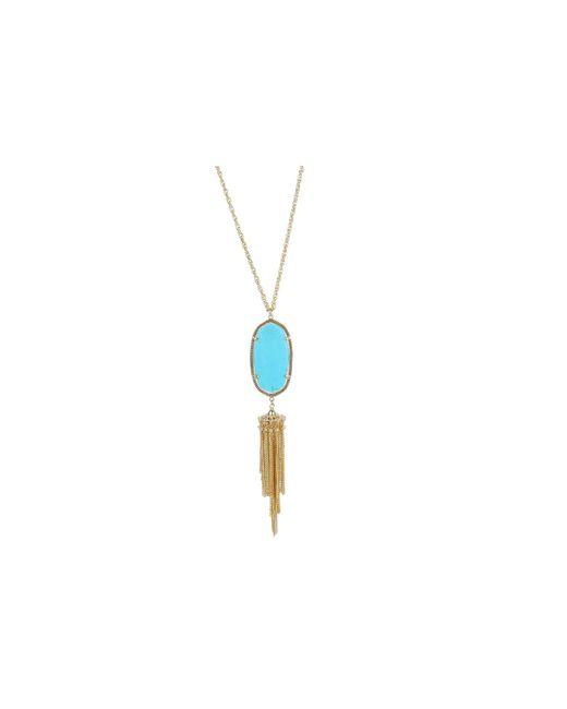 Kendra Scott | Blue Rayne Necklace | Lyst