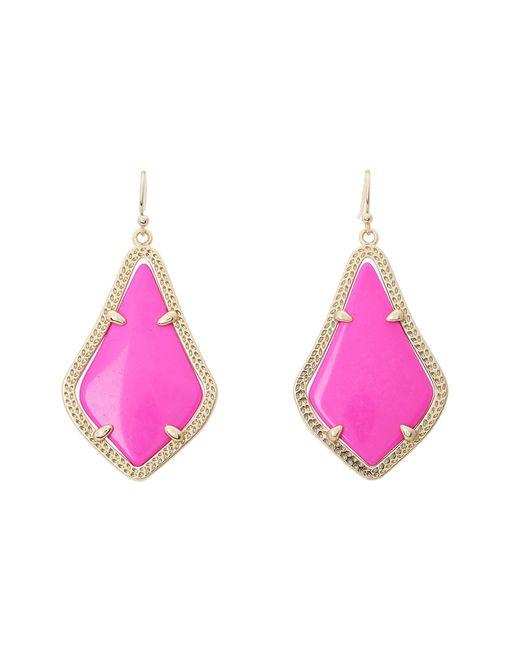 Kendra Scott | Pink Alex Earring | Lyst
