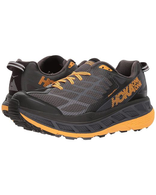 Hoka One One - Black Stinson Atr 4 (nine Iron/silver Pine) Men's Running Shoes for Men - Lyst