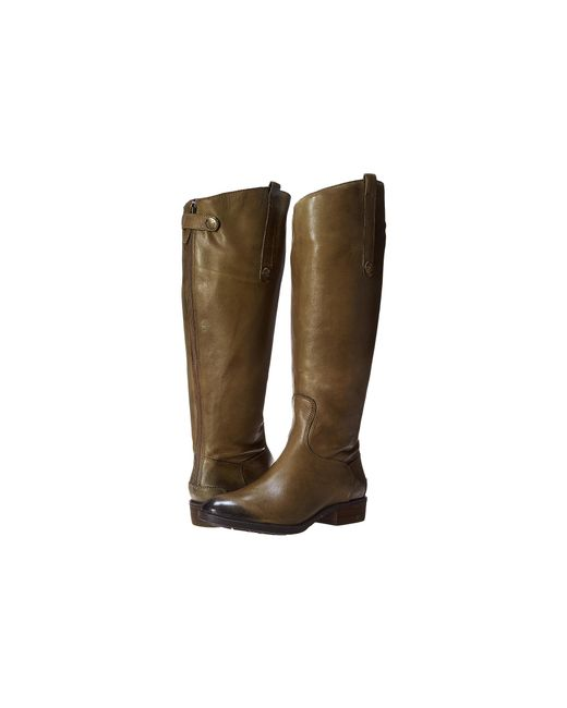 Sam Edelman | Brown Penny Leather Knee-High Riding Boots | Lyst