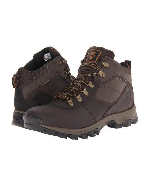 Timberland | Brown Earthkeepers® Mt. Maddsen Mid Waterproof for Men | Lyst