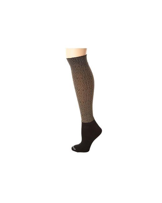 Bootights | Natural Tabu Cheetah Knee High/ankle Sock | Lyst