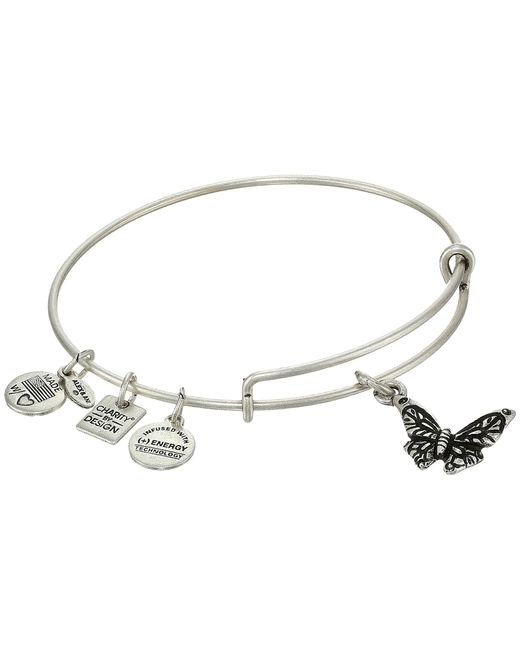 ALEX AND ANI   Metallic Butterfly Hanley Center   Lyst