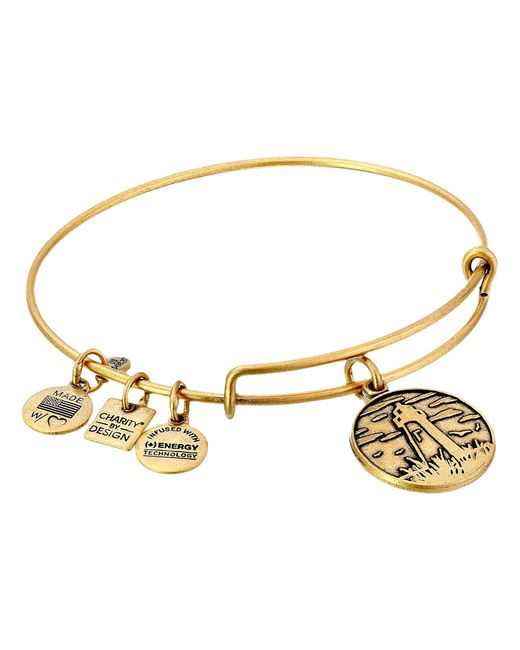 ALEX AND ANI | Metallic Lighthouse Charm Bangle | Lyst