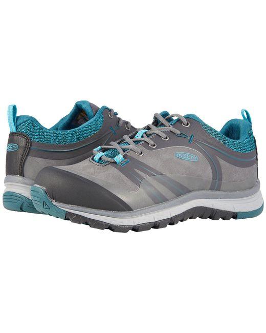 Keen Utility - Blue Sedona Pulse Low Aluminum Toe (magnet/baltic) Women's Work Boots - Lyst