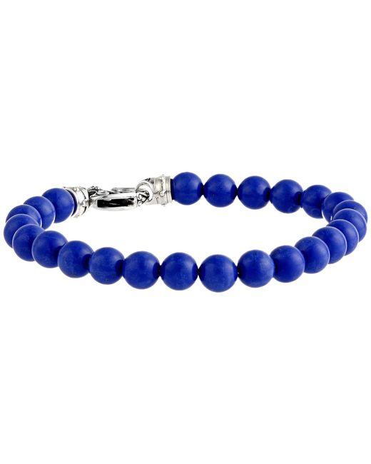 Stephen Webster | Blue London Calling Beaded Bracelet for Men | Lyst