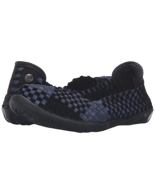 Bernie Mev Women Catwalk Slip On Flats Shoes Bronze Velvet