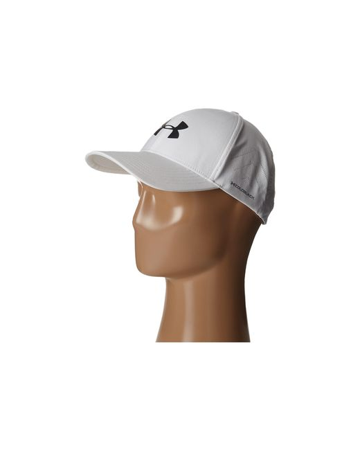 Under Armour | White Ua Driver Adjustable Golf Cap for Men | Lyst