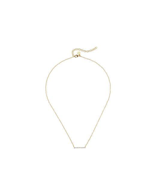 Gorjana | Metallic Knox Pave Necklace | Lyst