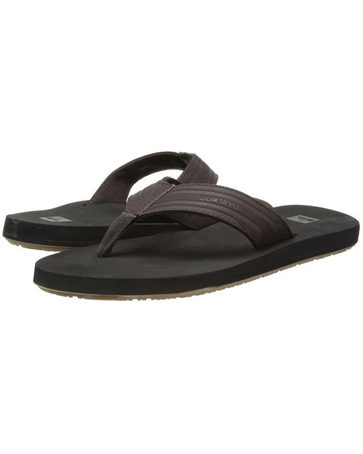 Quiksilver | Brown Mens Monkey Wrench Sandal for Men | Lyst