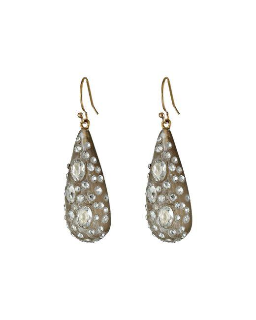 Alexis Bittar | Gray Small Diamond Dust Dew Drop | Lyst