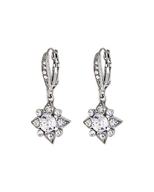 Oscar de la Renta   Metallic Delicate Star Earring   Lyst