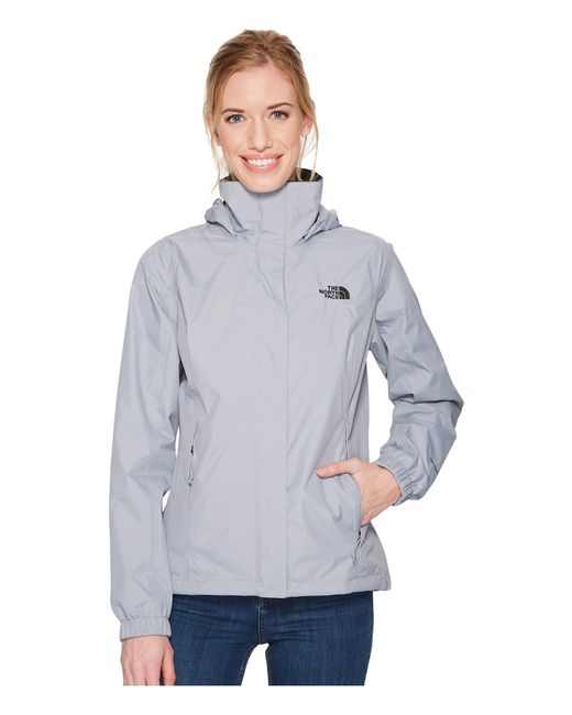 The North Face - Gray Resolve 2 Jacket (tnf Black) Women's Coat - Lyst