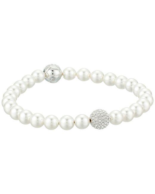 Swarovski - Remix Collection Pearl Bracelet (white) Bracelet - Lyst