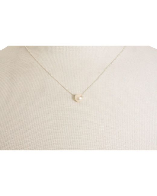 Dogeared Metallic Pearls Of Love Necklace