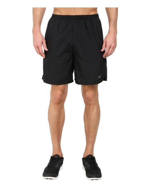 "Nike | Black 7"" Challenger Short for Men 