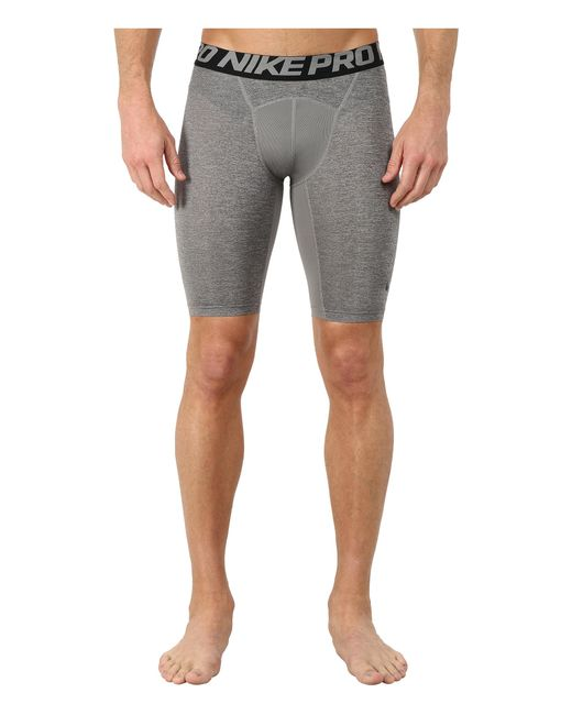 "Nike | Gray Pro Cool Compression 9"" Short for Men 