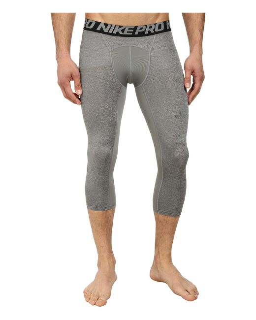 Nike | Black Pro Cool 3/4 Compression Tight for Men | Lyst