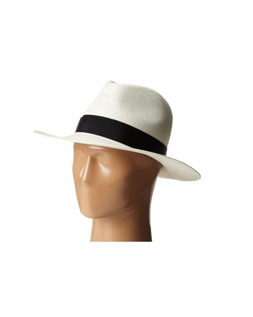 Hat Attack | Black Panama Continental | Lyst