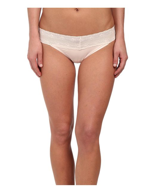 Natori | Natural Bliss Perfection Thong | Lyst