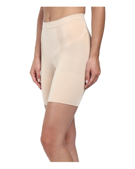 Spanx | Natural Oncore Mid-thigh | Lyst